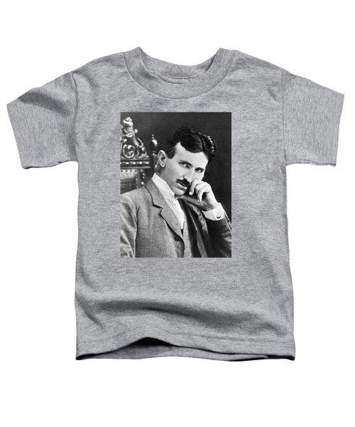 Nikola Tesla Toddler T-Shirt