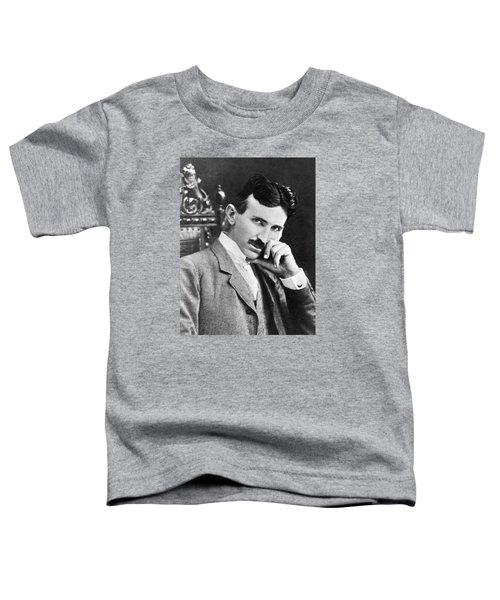 Nikola Tesla Toddler T-Shirt