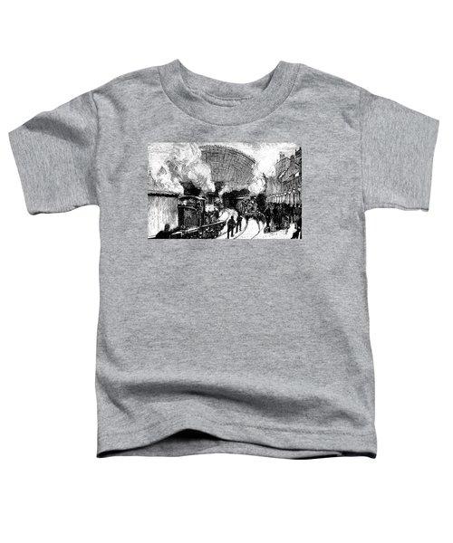 Nineteenth Century Railway Station Toddler T-Shirt
