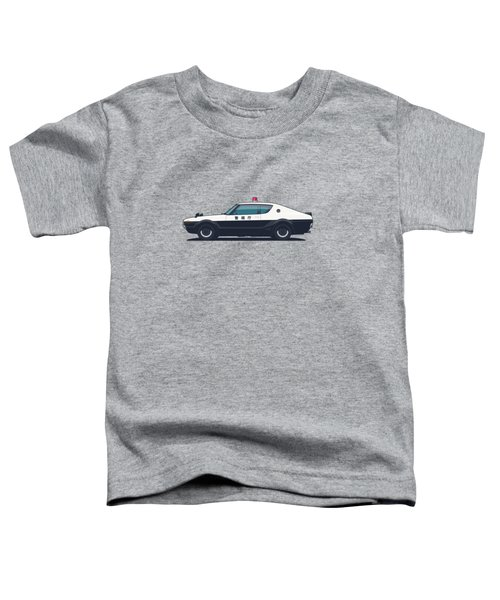 Nissan Skyline Gt-r C110 Japan Police Car Toddler T-Shirt