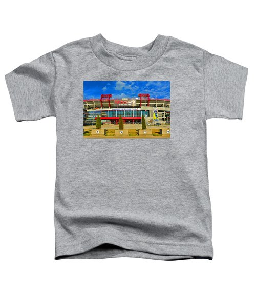 Nissan Stadium Home Of The Tennessee Titans Toddler T-Shirt