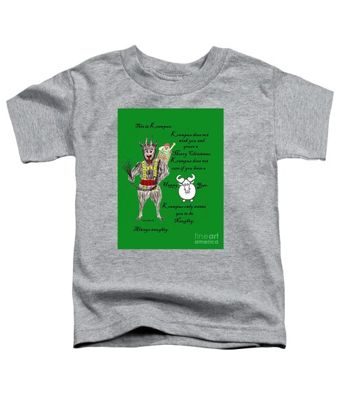 No Happy Gnu Year Toddler T-Shirt