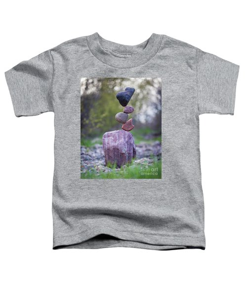 Zen Stack #4 Toddler T-Shirt
