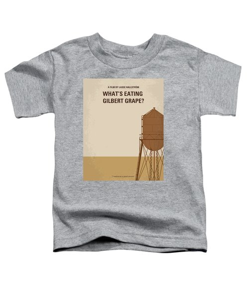 No795 My Whats Eating Gilbert Grape Minimal Movie Poster Toddler T-Shirt