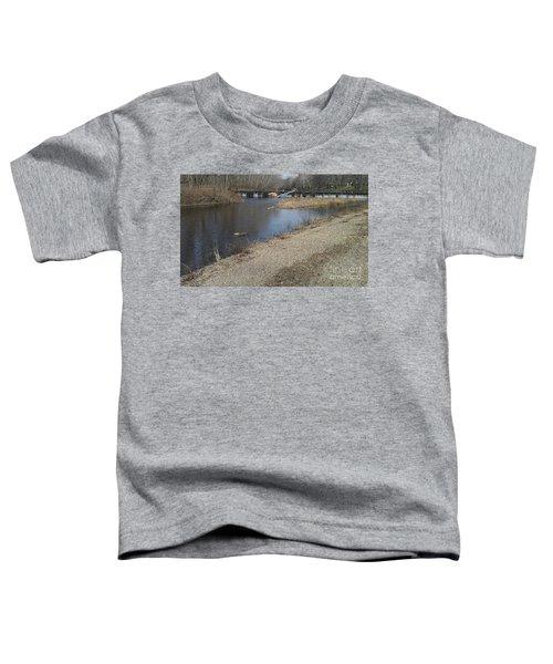Noblitt Park Spillway - Columbus Indiana Toddler T-Shirt