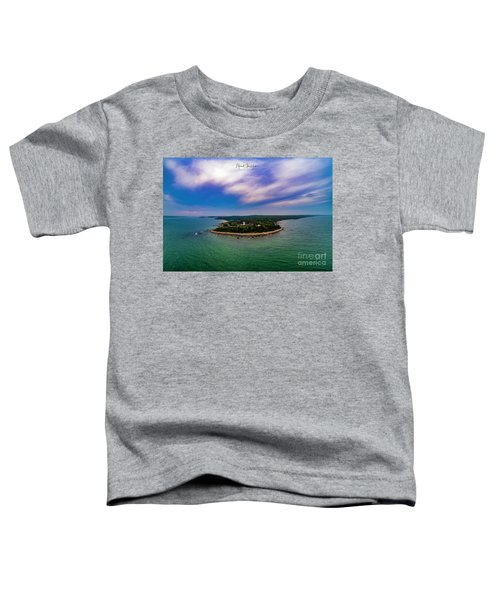 Nobska Lighthouse Panorama Toddler T-Shirt