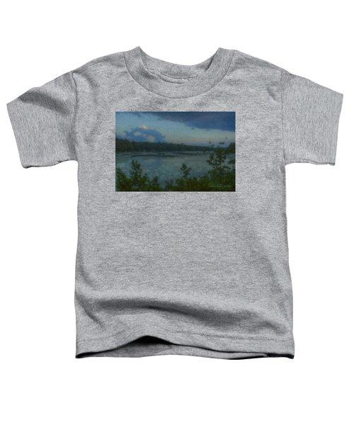 Nocturne At Ames Long Pond Toddler T-Shirt