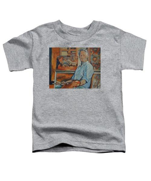 Nop Briex Self Portrait Toddler T-Shirt