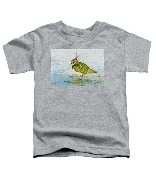 Northern Lapwing Toddler T-Shirt by John Birnie