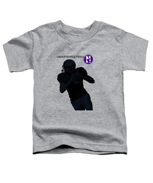 Northwestern Football Toddler T-Shirt