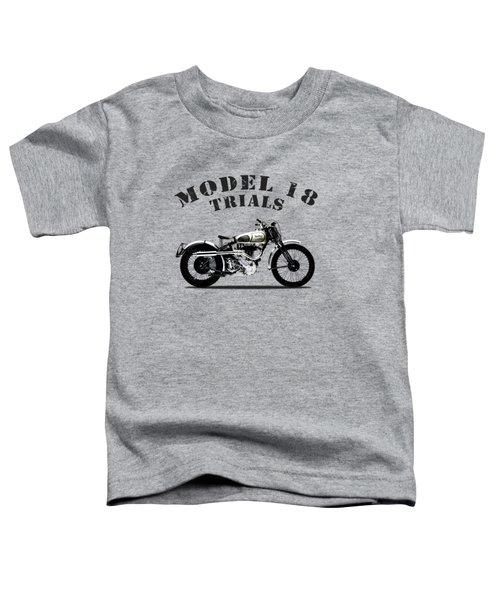 Norton Model 18 Trials 1938 Toddler T-Shirt