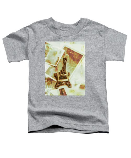 Nostalgic Mementos Of A Paris Trip Toddler T-Shirt
