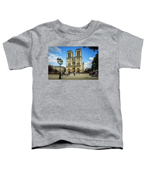Notre Dame Cathedral Toddler T-Shirt