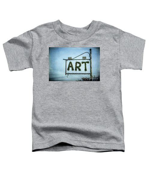 Now This Is Art Toddler T-Shirt