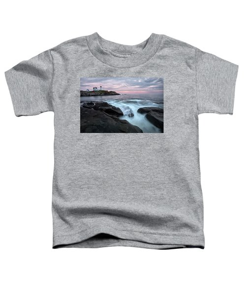Nubble Lighthouse Of Maine Toddler T-Shirt