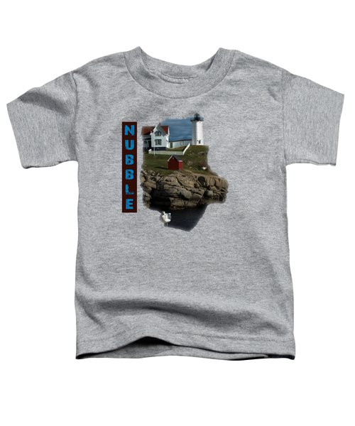 Nubble T-shirt Toddler T-Shirt by Mim White