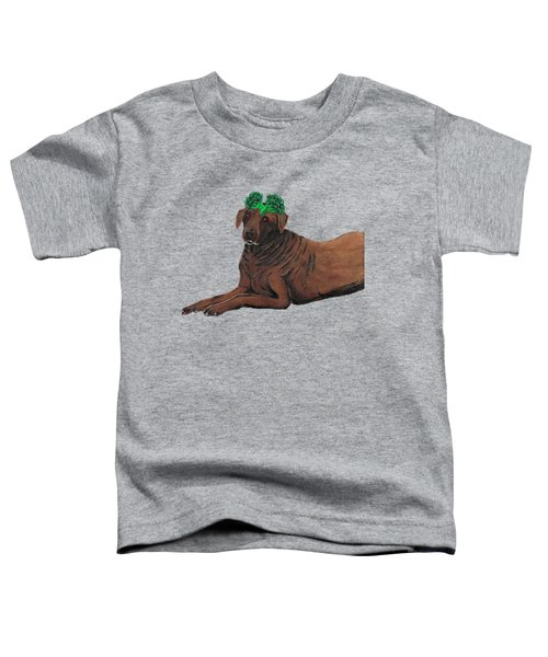 Obie Toddler T-Shirt by Nick Nestle