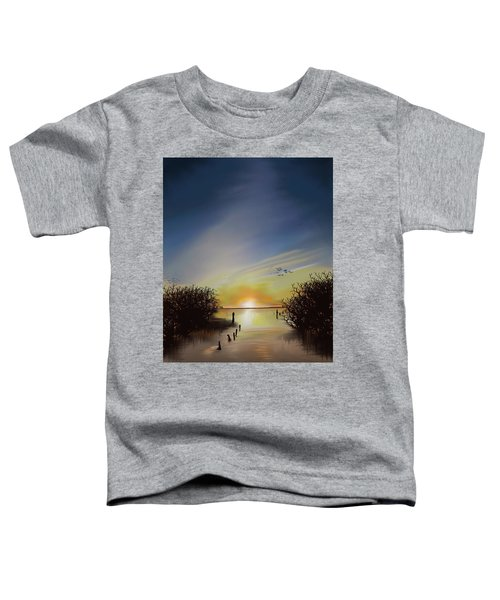 Toddler T-Shirt featuring the digital art OBX by Gerry Morgan