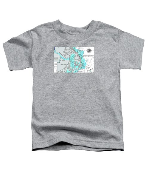 Ocean Bluff And Brant Rock Toddler T-Shirt