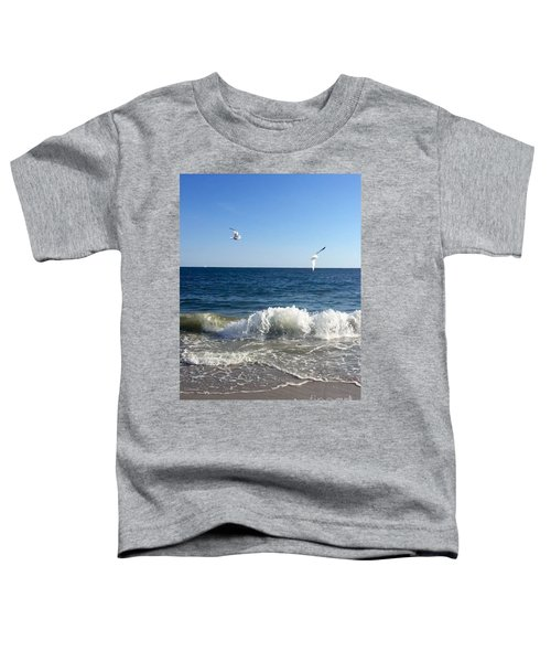 Ocean Waves Toddler T-Shirt