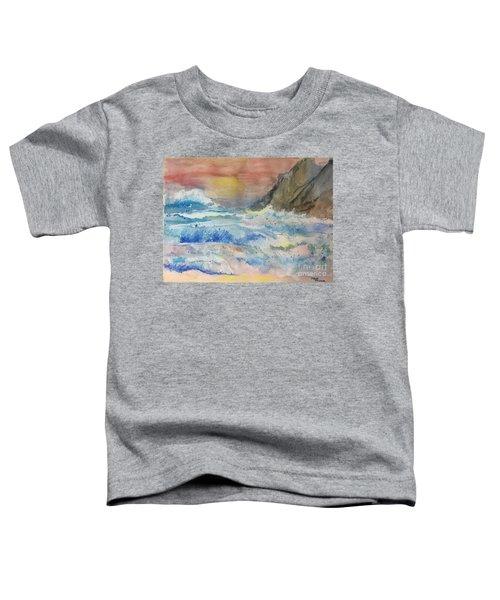 Ocean Waves Toddler T-Shirt