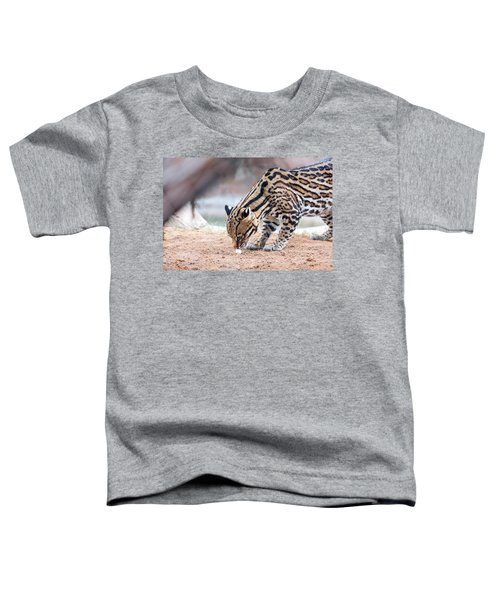 Ocelot And Egg Toddler T-Shirt