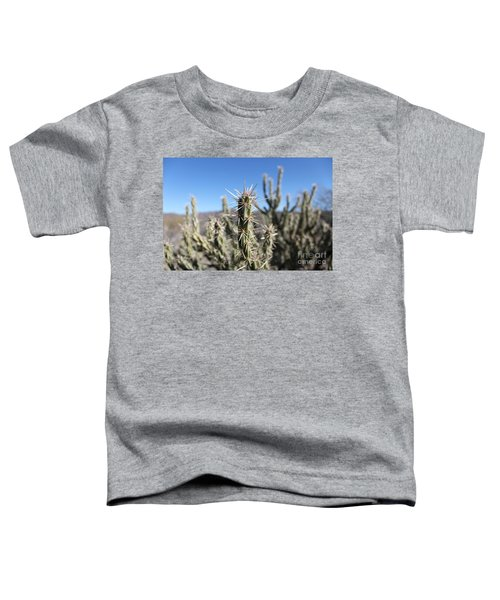 Toddler T-Shirt featuring the photograph Ocotillo by Antonio Romero