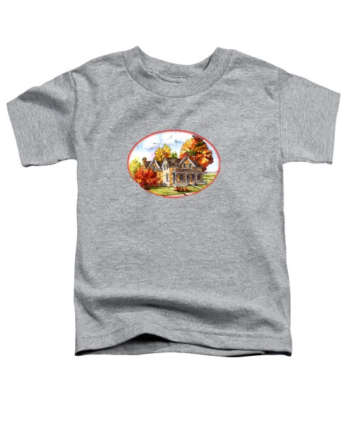 October At The Farm Toddler T-Shirt