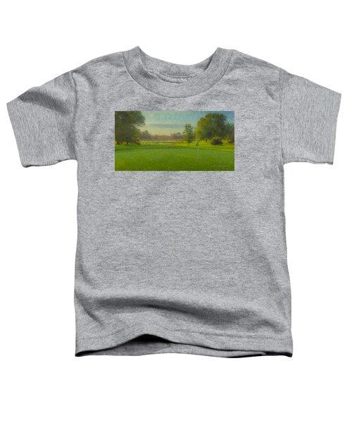 October Morning Golf Toddler T-Shirt