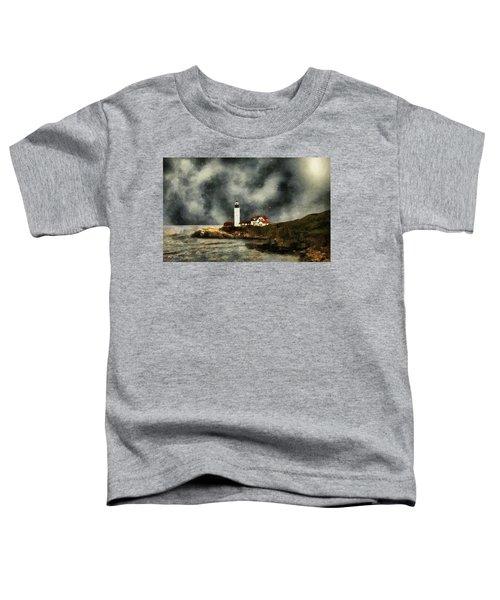 October Night, Portland Head Toddler T-Shirt