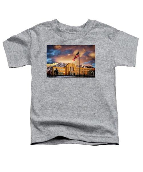 Ogden High School At Sunset Toddler T-Shirt