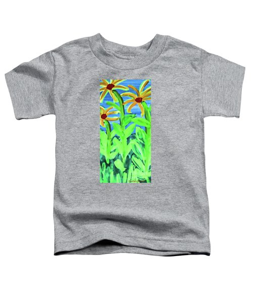 Oh Glorious Day Floral Toddler T-Shirt