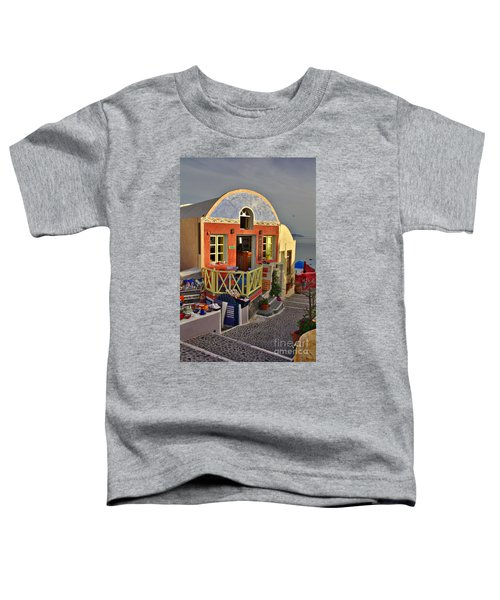 Oia Pub Toddler T-Shirt