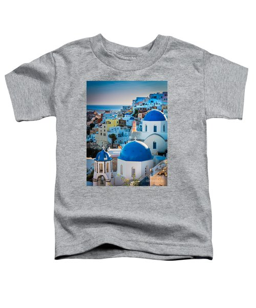 Oia Town Toddler T-Shirt