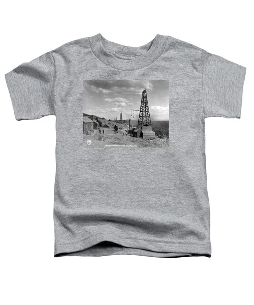 Oil Well, Wyoming, C1910 Toddler T-Shirt