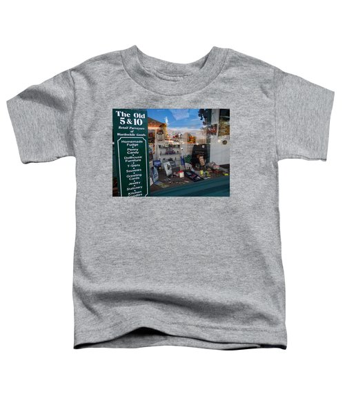 Old 5 And 10 North Conway Toddler T-Shirt
