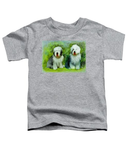Old English Sheepdog Toddler T-Shirt