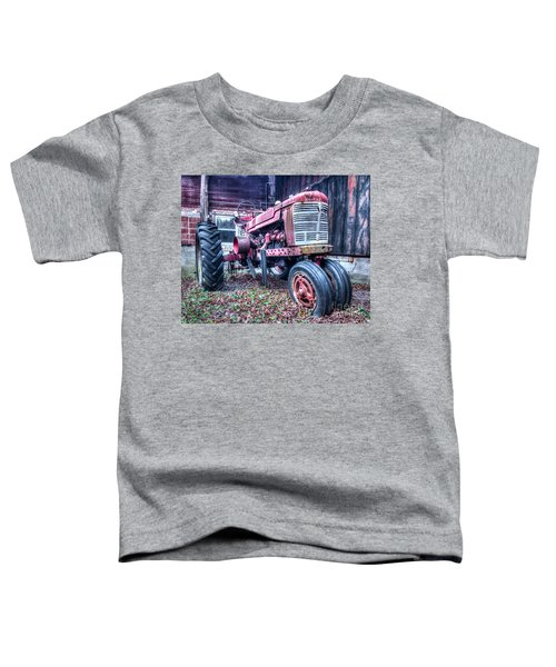 Old Farm Tractor Toddler T-Shirt