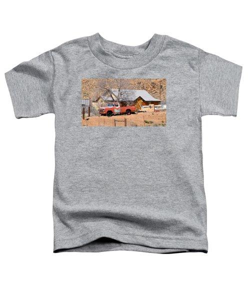 Old Farm Trucks Along Route 66 Toddler T-Shirt