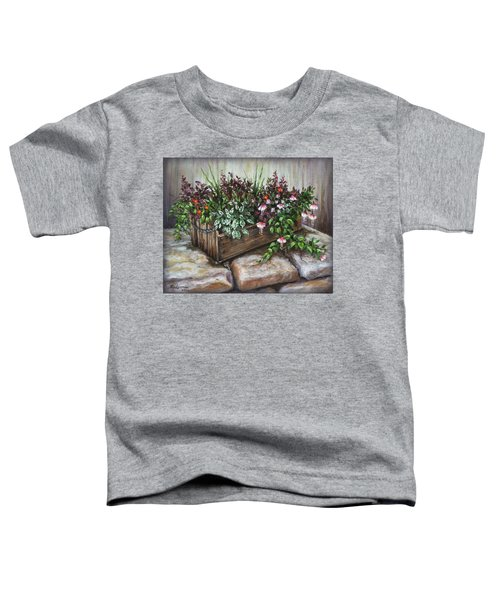 Old Flower Box Toddler T-Shirt