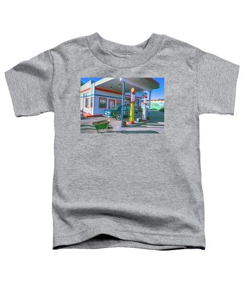 Old Gas Station Arizona  Toddler T-Shirt