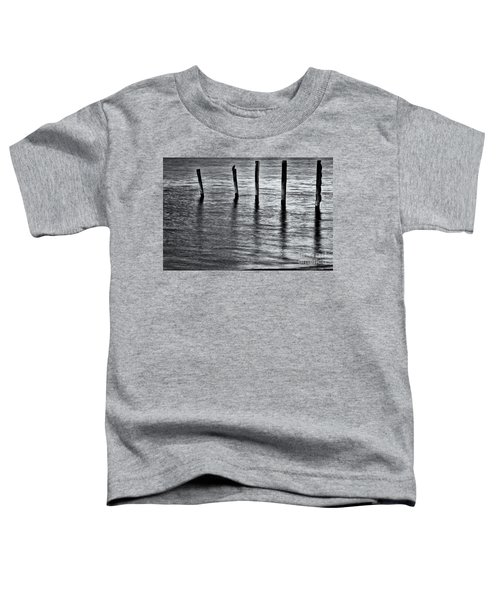 Toddler T-Shirt featuring the photograph Old Jetty - S by Werner Padarin
