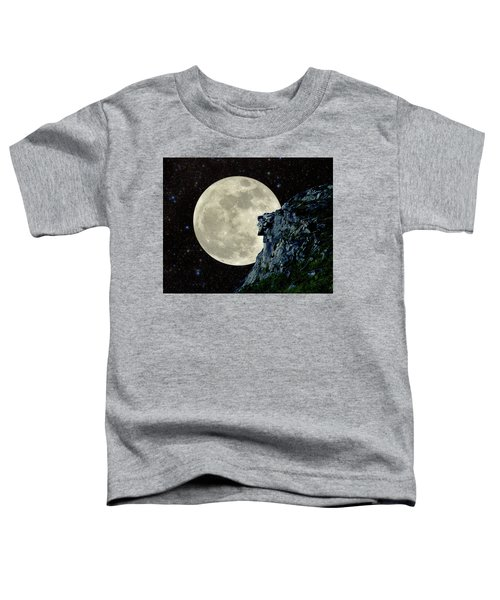 Old Man / Man In The Moon Toddler T-Shirt