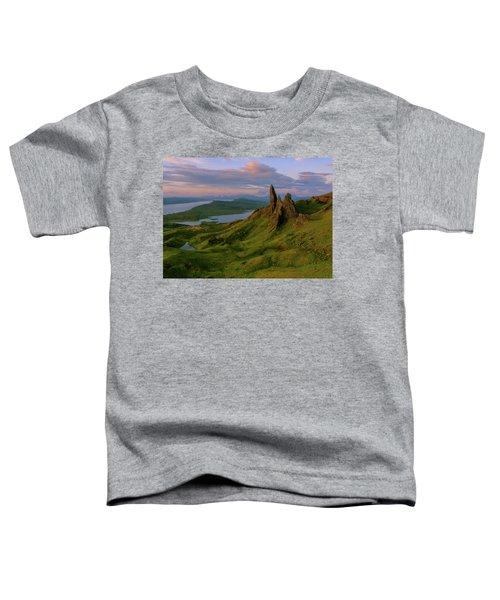 Old Man Of Storr Toddler T-Shirt