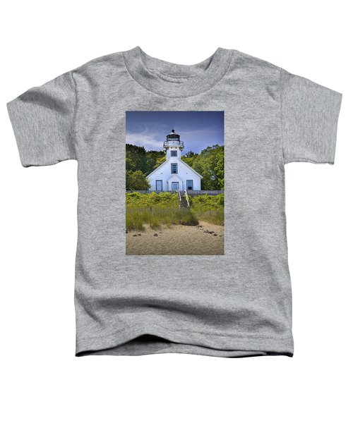 Old Mission Point Lighthouse In Grand Traverse Bay Michigan Number 2 Toddler T-Shirt