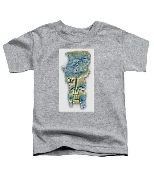 Old North Church Steeple Toddler T-Shirt