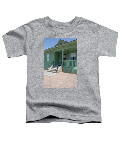 Old Period Suburban American Home Toddler T-Shirt
