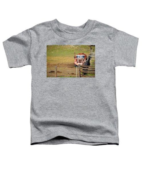 Old Pump Truck Toddler T-Shirt