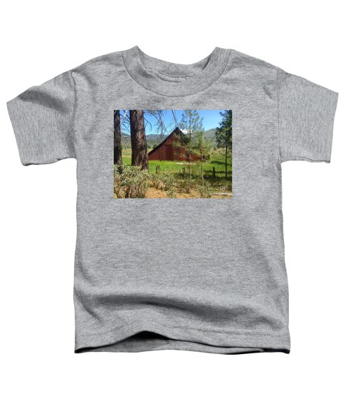 Old Red Barn Toddler T-Shirt