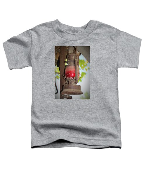 Old Red Lamp Toddler T-Shirt